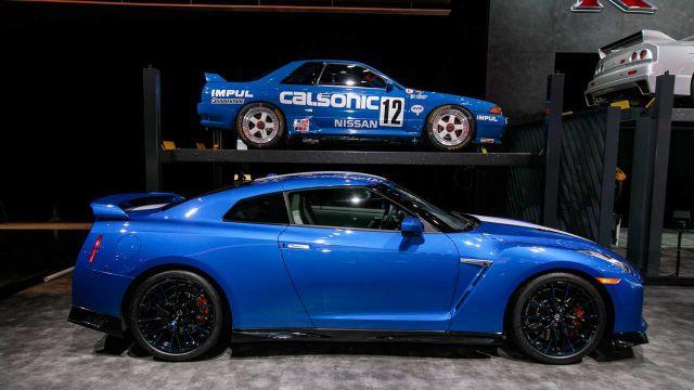 2020 Nissan GT-R side