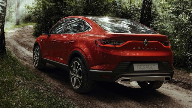 2020 Renault Arkana rear