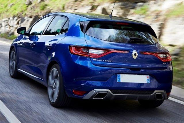 2020 Renault Megane rear