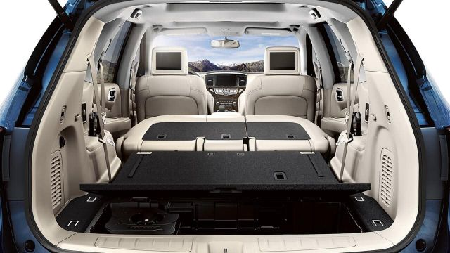 2021 Nissan Pathfinder cargo space