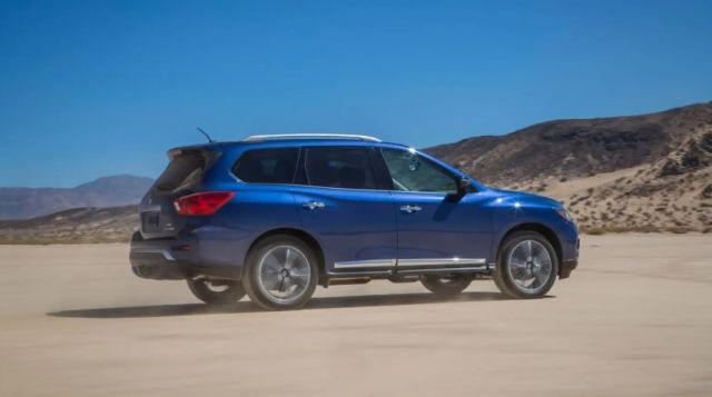 2021 Nissan Pathfinder side