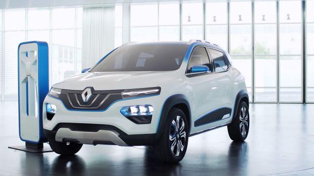 2020 Renault City K-ZE front