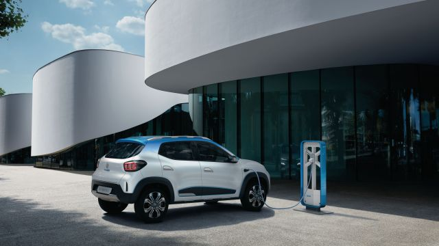 2020 Renault City K-ZE rear