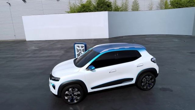 2020 Renault City K-ZE side