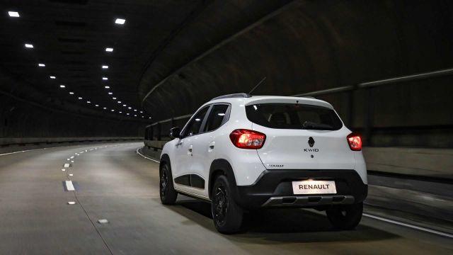 2020 Renault Kwid rear