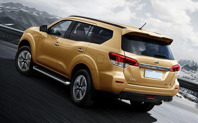 2021 Nissan Xterra rear