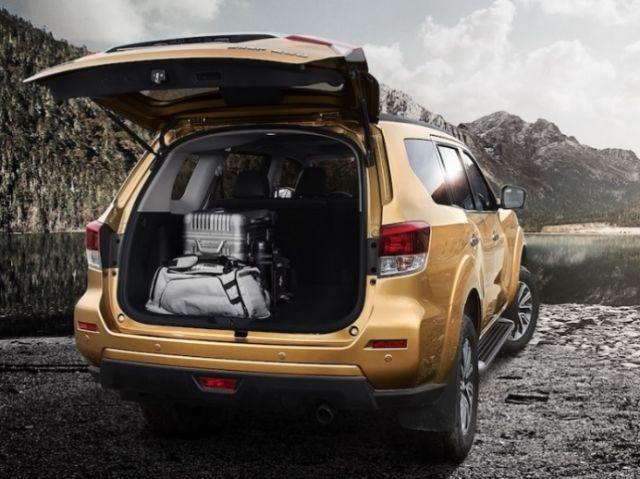 2021 Nissan Xterra trunk
