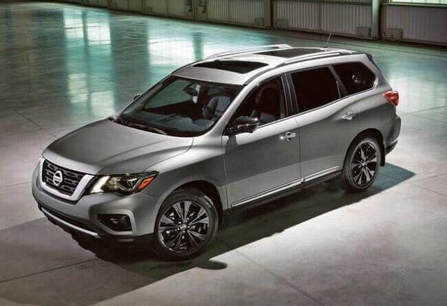 2020 Nissan Pathfinder Hybrid front