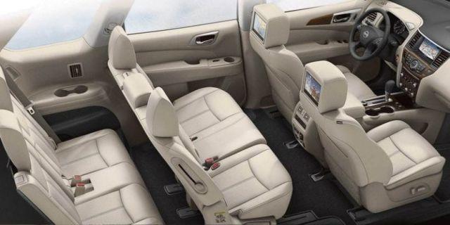 2020 Nissan Pathfinder Hybrid interior