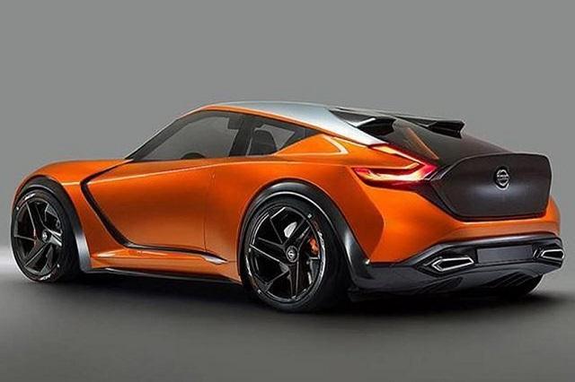 2021 Nissan Z rear