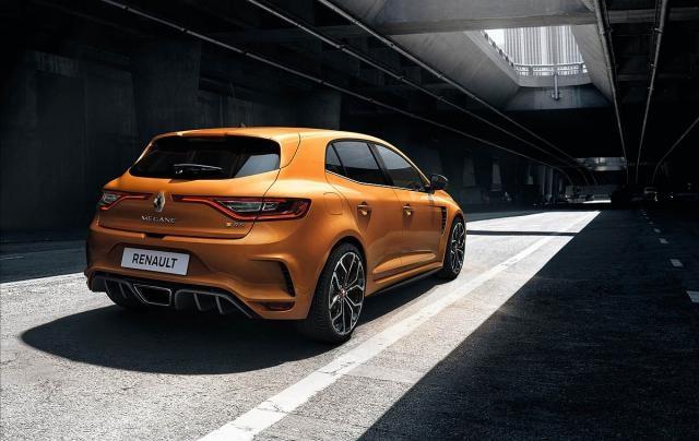 2021 Renault Megane rear