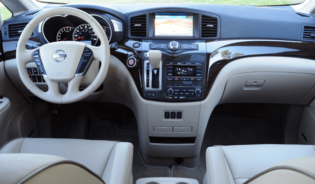 2017 Nissan Quest Interior