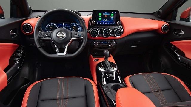 2021 Nissan Juke Nismo Interior