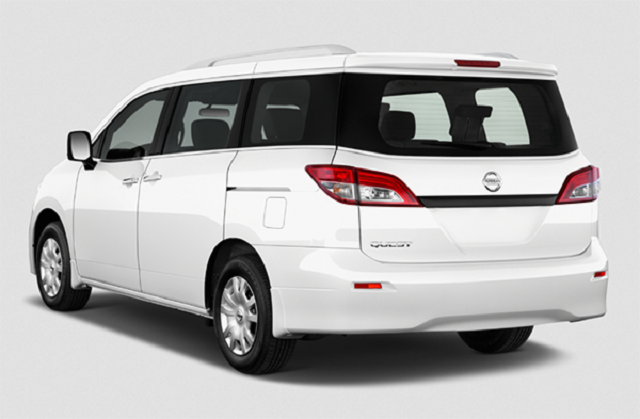 2021 Nissan Quest rear