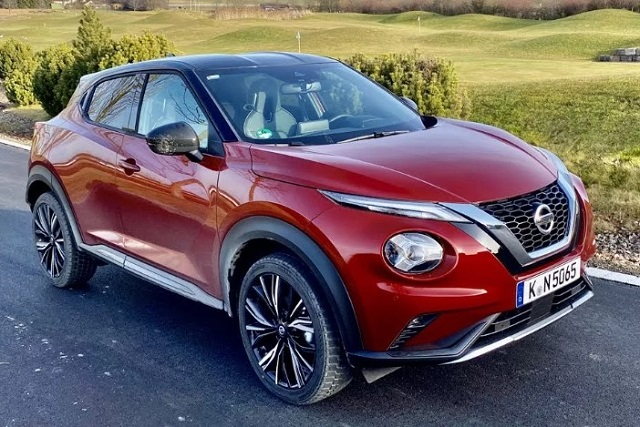 2022 Nissan Juke front view