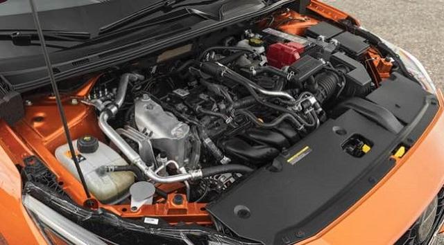 2022 Nissan Sentra engine
