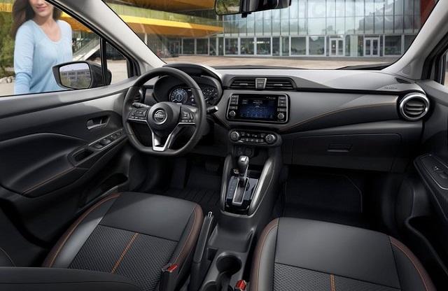 2022 Nissan Versa interior