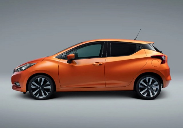 2022 nissan micra side view