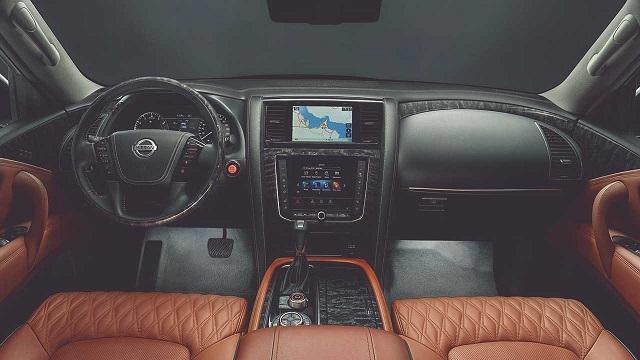 2022 Nissan Patrol Interior