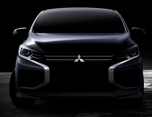 2022 Mitsubishi Coltfront view