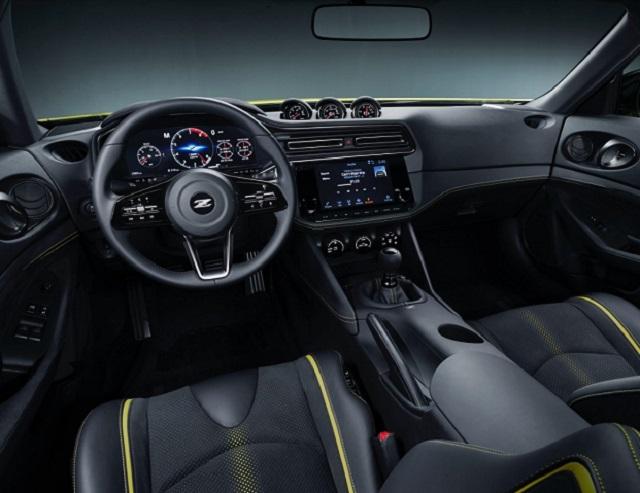 2022 Nissan 400Z interior